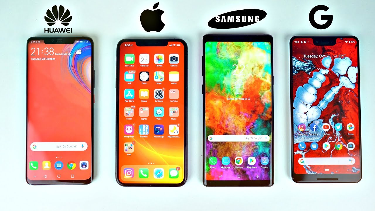note vs iphone X vs xperia z3