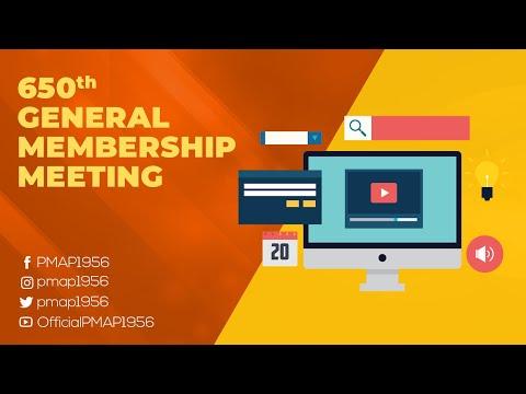 650th General Membership Meeting - Socorro Suarez