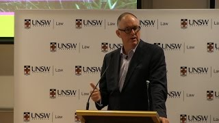 Welcome address to new JD students by UNSW Law alumnus Michael Rose, Chief Executive Partner- Allens