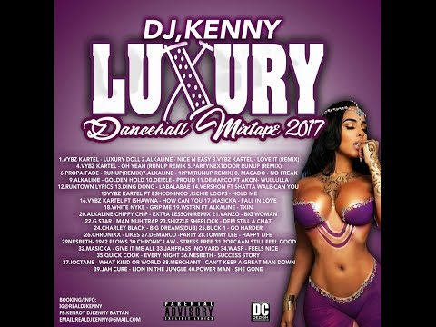 DJ KENNY LUXURY DANCEHALL MIX SEP 2017