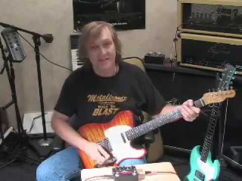 HellFire Distortion pedal demo by Lee Jackson