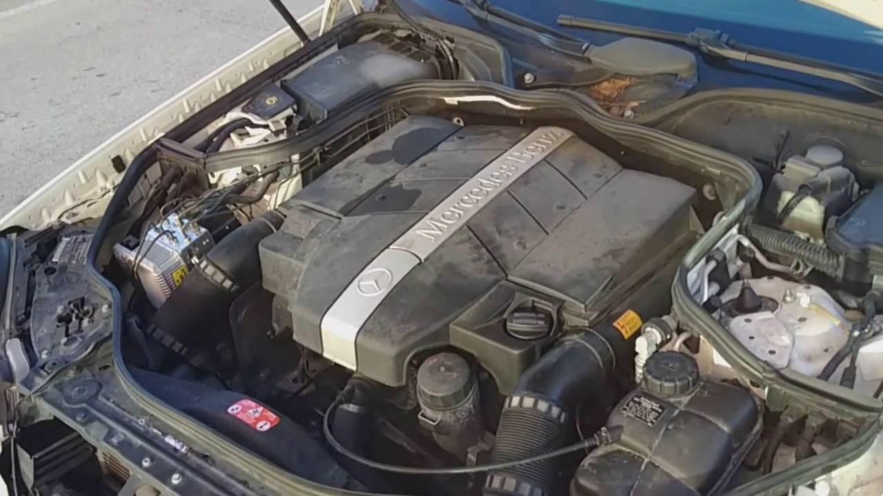 Bad Engine Mounts on Mercedes Benz E320 W211  YouTube