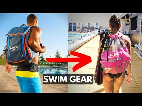 What's In My Swim Bag? 🤔12 Must Have Swimming Items
