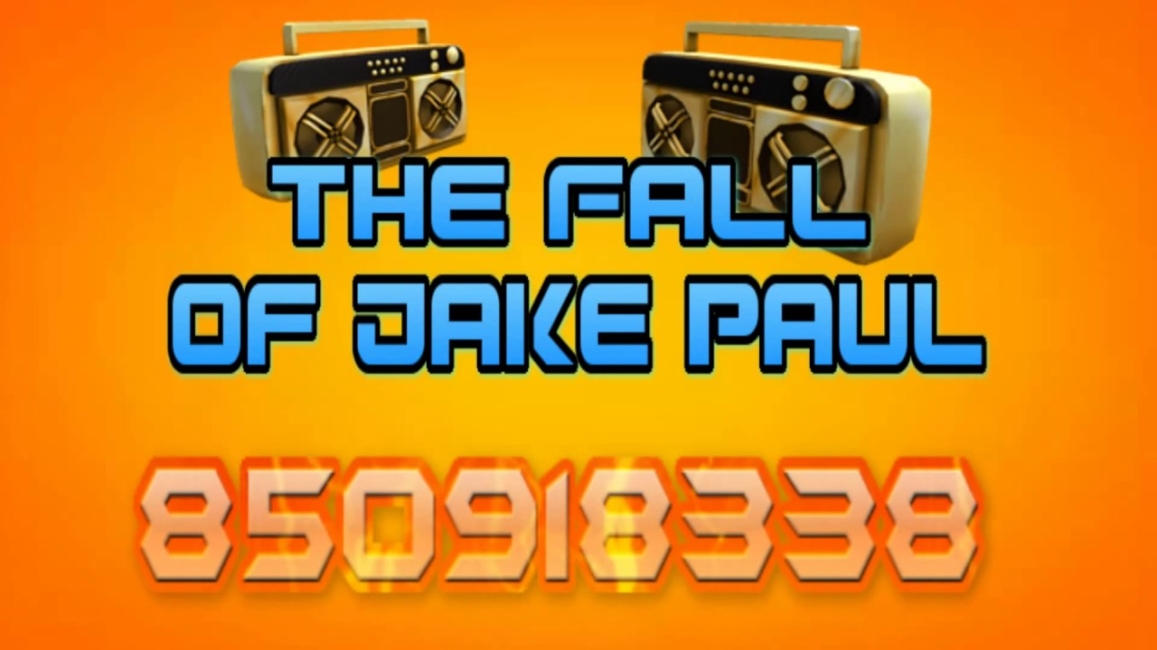 The Fall Of Jake Paul Song ID Code - Roblox