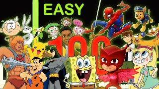 100 Cartoon Themes On Piano   100K SUBSCRIBERS SPECIAL!!