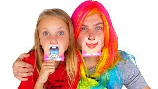 Моя НОВАЯ ПОДРУЖКА ! Угадай КТО ЭТО / Дети для детей Video for kids николь и алиса новые серии