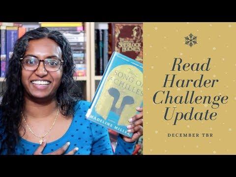 Reader Harder Challenge Update // December TBRish