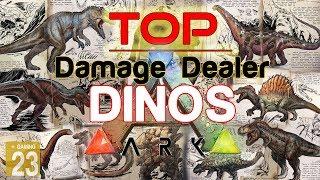 ARK: Stärkste Dinos! ✩ TOP LIST ✩ [INFO/Guide/Deutsch] Max Melee Damage!