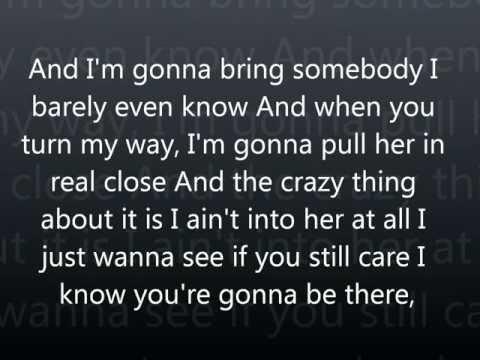 I Know You're Gonna Be There lyrics Luke Bryan