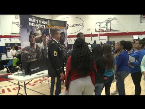 Brody Middle School's C3 Fair 4-8-15 (Channel 13 News at Noon)