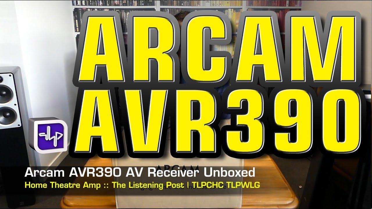 Arcam AVR390 AV Receiver | The Listening Post | TLPCHC TLPWLG