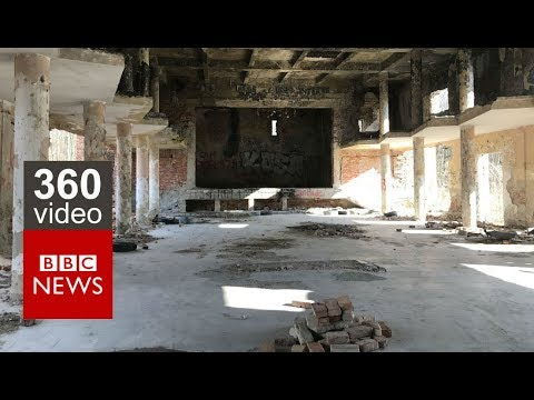 In 360 video: An abandoned Soviet military base in western Hungary – BBC News