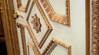видео Реставрация деревянных дверей своими руками
