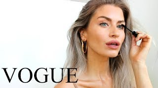 I TRIED FOLLOWING A CANDICE SWANEPOEL VOGUE MAKE-UP TUTORIAL | LYSSRYANN