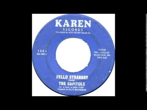 The Capitols- Cool Jerk /  Hello Stranger  1966 Karen 1524