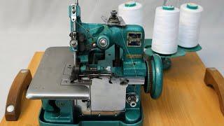 """<b>Оверлок</b> GN1-2D/Часть 3/""""Правильная"""" заправка/ Выводы при ..."""