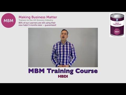 Herrmann Brain Dominance Instrument (HBDI) - MBM Training Course