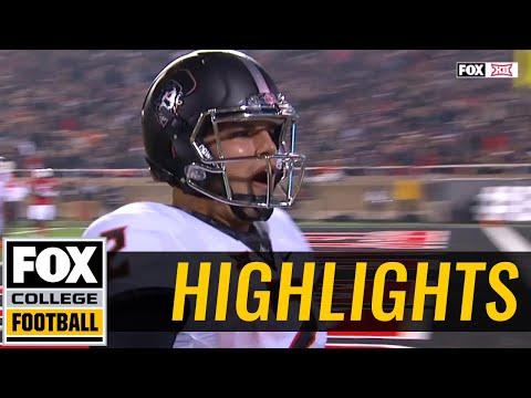 Oklahoma State vs Texas Tech | Highlights | FOX COLLEGE FOOTBALL