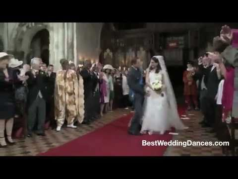 Royal Wedding Entrance Dance - Prince William & Kate ...