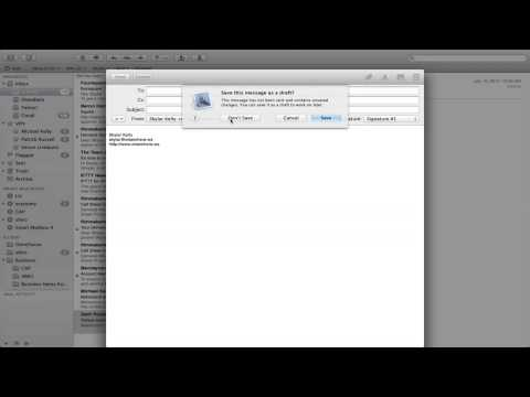 How to Put a Signature on a Reply in Mac Mail : Apple Products & Mac Tips