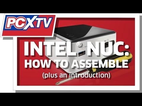 PCXTV Intel NUC Assembly