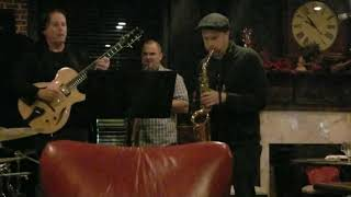 Saxophone in Alpharetta Georgia Jazz Club DEC2019