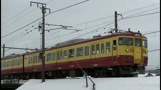 115系N40旧70系色編成 信越本線下り快速新潟行き3481M