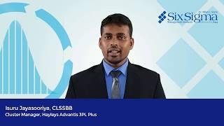 Isuru Jayasooriya, CLSSBB | Cluster Manager, Hayleys Advantis 3PL Plus