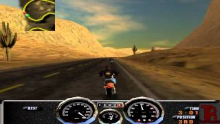 Harley Davidson: Race Across America gameplay