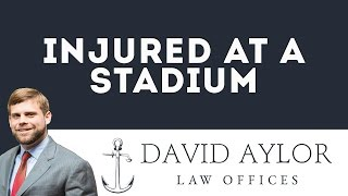 Injured At A Stadium | Charleston SC Personal Injury Lawyer