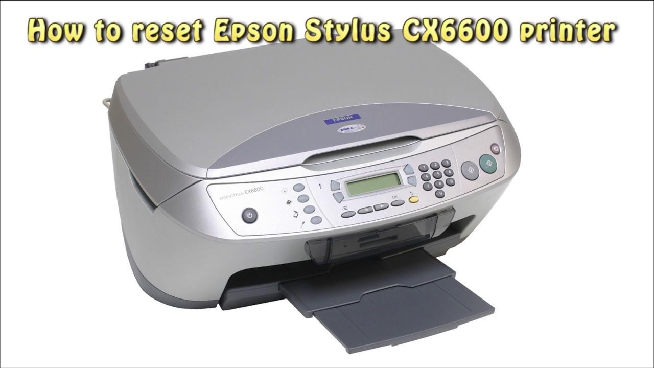 cx6600 scanner