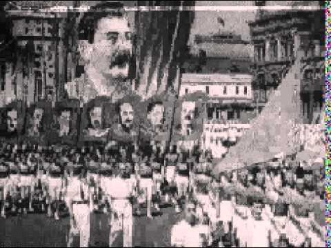 VINTAGE NEWS REEL joseph stalin, soviet union, communism, communist, moscow, cold war russia