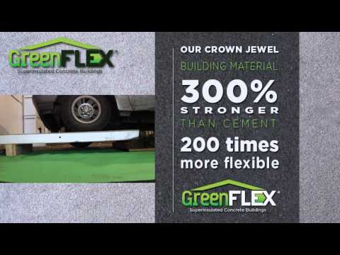 GreenFlex Superinsulated Concrete Buildings