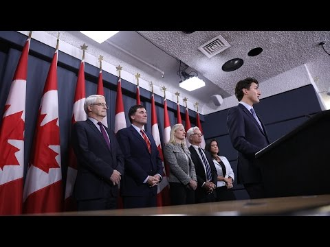 Prime Minister Trudeau announces decisions on major energy projects in Canada