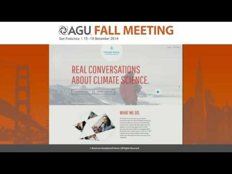 Climatevoices.org -- Engaging an Array of U.S. Public Audiences in the Science of Climate Change