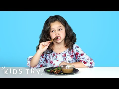 Kids Try Barbecue From Around the World Part 2 | Kids Try | HiHo Kids