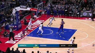 1st Quarter, One Box Video: Detroit Pistons vs. Charlotte Hornets
