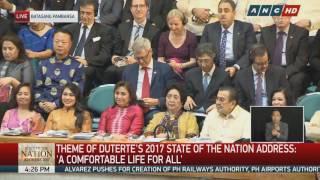 Duterte starts 2nd SONA with joke on absences
