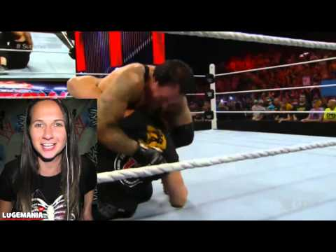 WWE RAW Brock Lesnar Undertaker Live Reaction