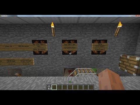 Minecraft Bahnhofanzeige / Berni the Gamer