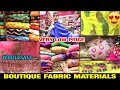 💕 Dress material Boutique Fabric at wholesale price \\ GOWN suit, lehenga, party wear dress