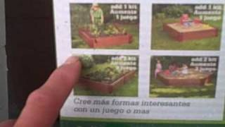 4' X 4' Raised Garden Bed Kit For Only $13 For A Limited Time!