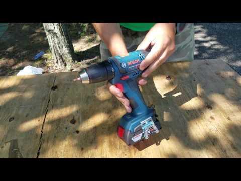 Bosch 18v Compact Tough Drill/Driver (DDB181) Update