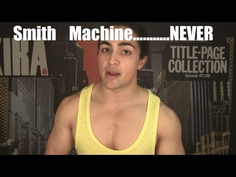 Smith Machine vs Free Weights: Should You Workout with a Smith Machine?