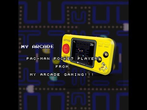 Pac-Man Pocket Player Handheld Review! [Pac-Man, Pac-Mania, And Pac-Attack!]