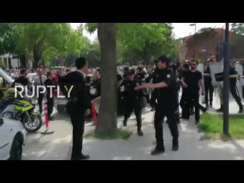 Turkey: Students detained after clashes with guards at Ankara Gazi University