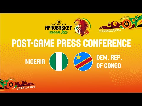 Press Conference - Nigeria v Dem. Rep. of the Congo