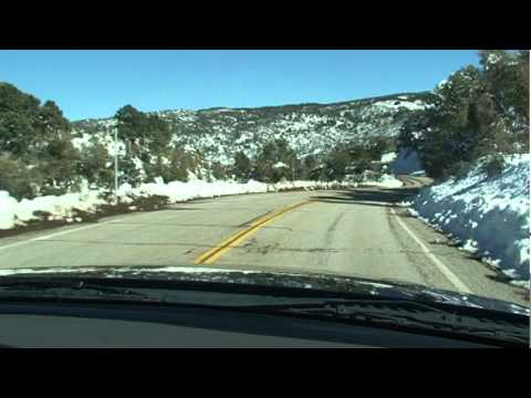 TRAVELING TO MOUNTAIN HIGH (WRIGHTWOOD, CA) VIA VISTA LARGO ROAD