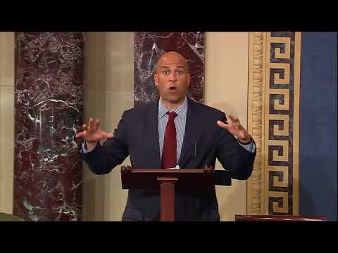 Sen. Cory Booker Speaks about Graham-Cassidy ACA Repeal Bill