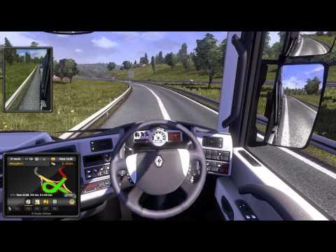 Euro Truck Simulator 2012: Roadtrip #1 w/DanTheGreatHD